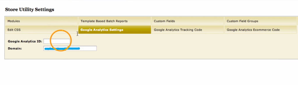 Miva Merchant Google Analytics enabling