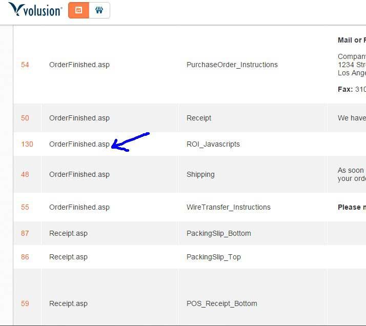 Volusion Adwords Conversion Tracking Setup III